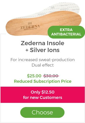 Zederna with Silver ions(Subscription)